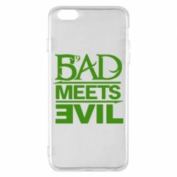 Чехол для iPhone 6 Plus/6S Plus Bad Meets Evil