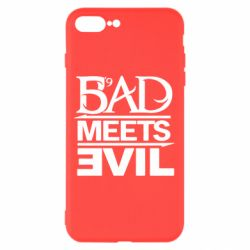 Чехол для iPhone 7 Plus Bad Meets Evil
