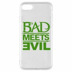 Чехол для iPhone 8 Bad Meets Evil