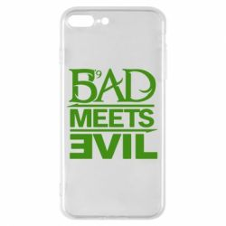 Чехол для iPhone 8 Plus Bad Meets Evil