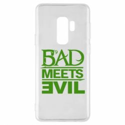 Чехол для Samsung S9+ Bad Meets Evil