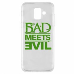 Чехол для Samsung A6 2018 Bad Meets Evil