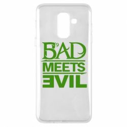 Чехол для Samsung A6+ 2018 Bad Meets Evil