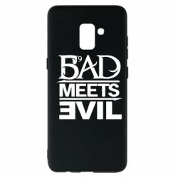 Чехол для Samsung A8+ 2018 Bad Meets Evil
