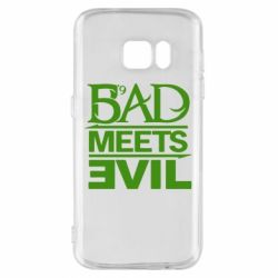 Чехол для Samsung S7 Bad Meets Evil