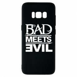 Чехол для Samsung S8 Bad Meets Evil
