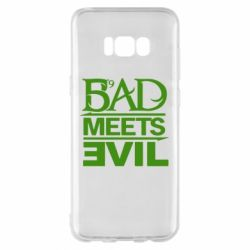 Чехол для Samsung S8+ Bad Meets Evil