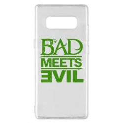 Чехол для Samsung Note 8 Bad Meets Evil