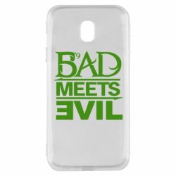 Чехол для Samsung J3 2017 Bad Meets Evil