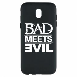 Чехол для Samsung J5 2017 Bad Meets Evil