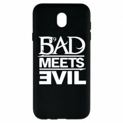 Чехол для Samsung J7 2017 Bad Meets Evil