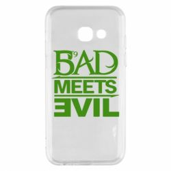 Чехол для Samsung A3 2017 Bad Meets Evil