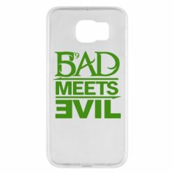Чехол для Samsung S6 Bad Meets Evil