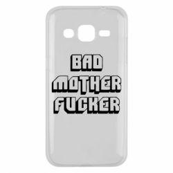 Чехол для Samsung J2 2015 Bad Mother F*cker