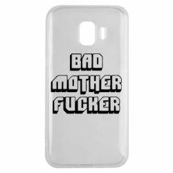 Чехол для Samsung J2 2018 Bad Mother F*cker