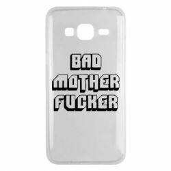 Чехол для Samsung J3 2016 Bad Mother F*cker