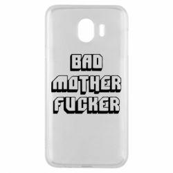 Чехол для Samsung J4 Bad Mother F*cker