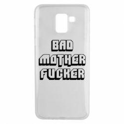 Чехол для Samsung J6 Bad Mother F*cker