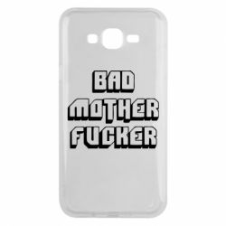 Чехол для Samsung J7 2015 Bad Mother F*cker