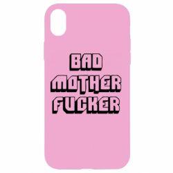 Чехол для iPhone XR Bad Mother F*cker