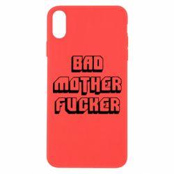 Чехол для iPhone Xs Max Bad Mother F*cker