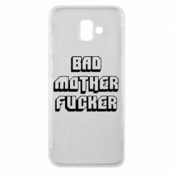 Чехол для Samsung J6 Plus 2018 Bad Mother F*cker
