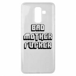 Чехол для Samsung J8 2018 Bad Mother F*cker