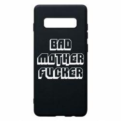 Чехол для Samsung S10+ Bad Mother F*cker