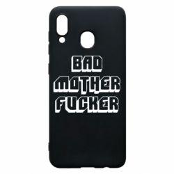 Чехол для Samsung A30 Bad Mother F*cker