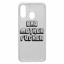 Чехол для Samsung A40 Bad Mother F*cker