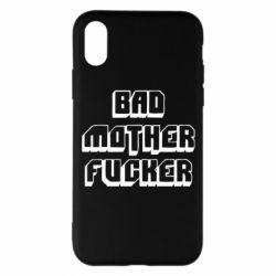 Чехол для iPhone X/Xs Bad Mother F*cker