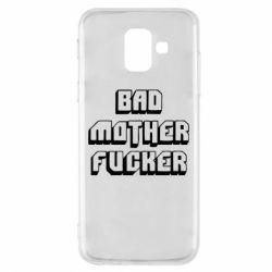 Чехол для Samsung A6 2018 Bad Mother F*cker