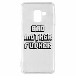 Чехол для Samsung A8 2018 Bad Mother F*cker
