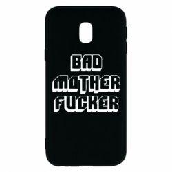 Чехол для Samsung J3 2017 Bad Mother F*cker