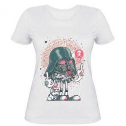 Женская футболка Bad Vader