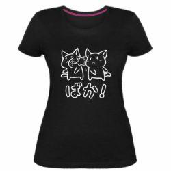 Женская стрейчевая футболка Baka