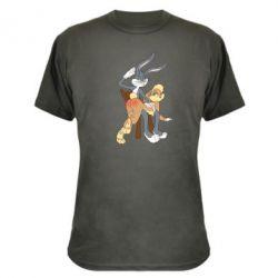 Камуфляжная футболка Бакс Банни - FatLine