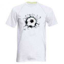 Мужская спортивная футболка Ball in the asphalt