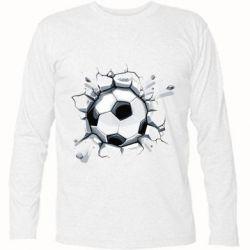 Футболка с длинным рукавом Ball in the asphalt