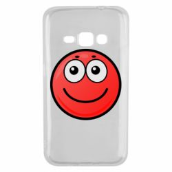 Чохол для Samsung J1 2016 Ball with smile