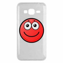 Чохол для Samsung J3 2016 Ball with smile