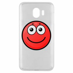 Чохол для Samsung J4 Ball with smile