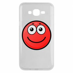 Чохол для Samsung J7 2015 Ball with smile