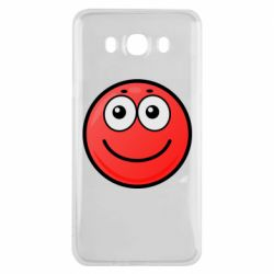 Чохол для Samsung J7 2016 Ball with smile