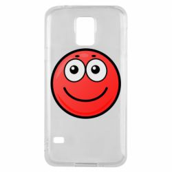 Чохол для Samsung S5 Ball with smile