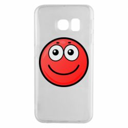 Чохол для Samsung S6 EDGE Ball with smile