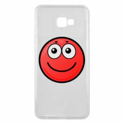 Чохол для Samsung J4 Plus 2018 Ball with smile