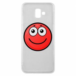 Чохол для Samsung J6 Plus 2018 Ball with smile