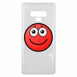 Чохол для Samsung Note 9 Ball with smile