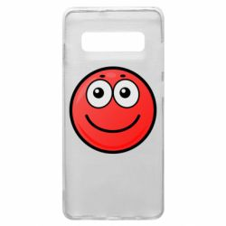 Чохол для Samsung S10+ Ball with smile